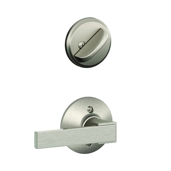 Interior Handleset Northbrook Lever and Interior Single Cylinder Deadbolt Thumbturn by Schlage