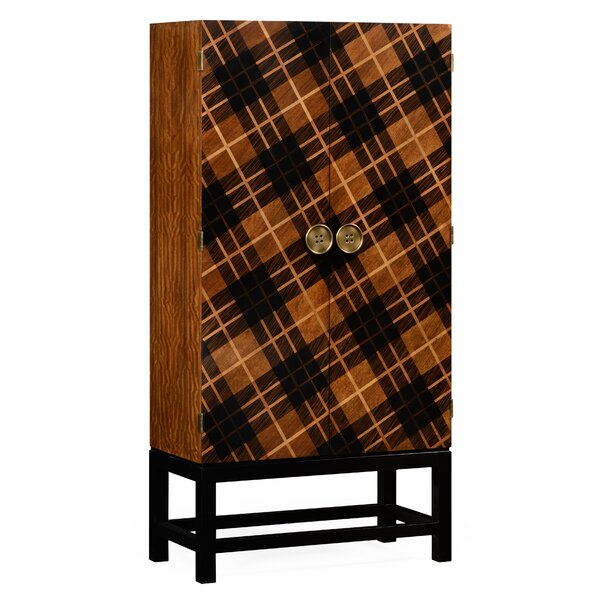Tall 2 Door Accent Cabinet by Jonathan Charles Fine Furniture