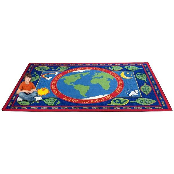 Earth Educational World Area Rug by Kid Carpet