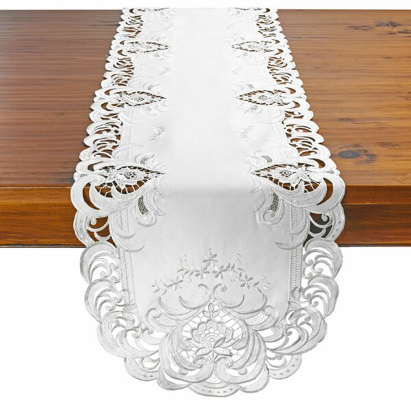 Enrique Decorative Rose Table Runner by Astoria Grand