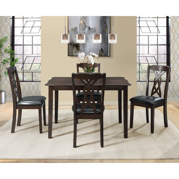 Palmetto Bluff 5 Piece Dining Set by Winston Porter