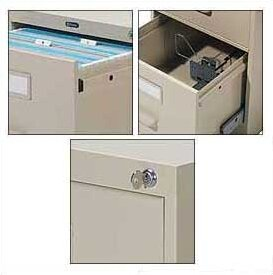 G Series 2-Drawer File Pedestal by Global Total Office