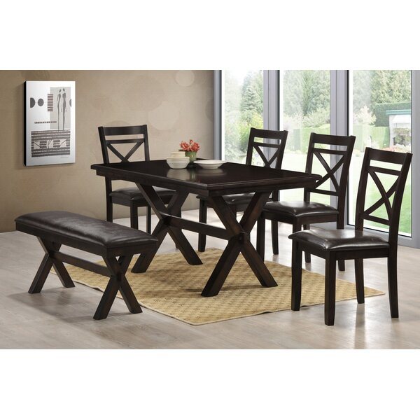 Johanson 6 Piece Dining Set by Andover Mills