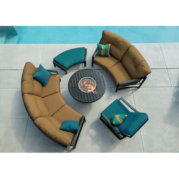 Kenzo Sectional Seating Group with Cushions by Tropitone