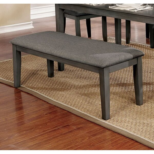 Rasberry Upholstered Bench by Gracie Oaks