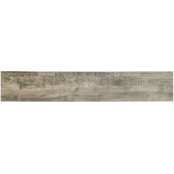 Baiji 8 x 48 Porcelain Wood Look Tile in Gray by Splashback Tile