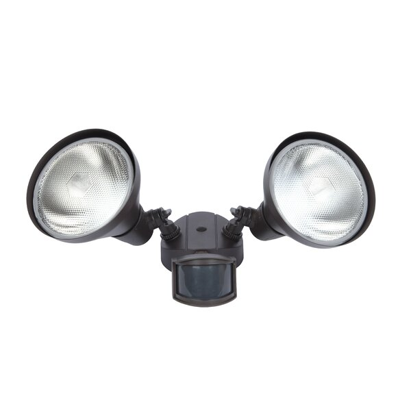 300 Watt 180 Degree Motion Activated Outdoor Flood Light by Lutec