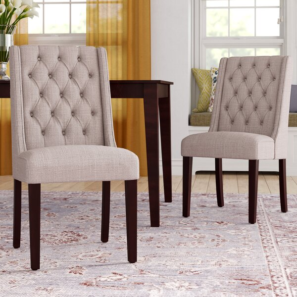 Henriette Upholstered Dining Chair (Set of 2) by Darby Home Co