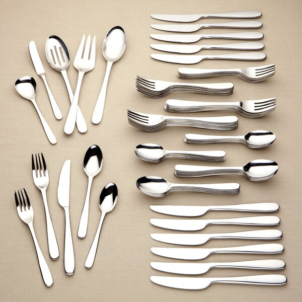 Stratton 65 Piece Flatware Set by Lenox
