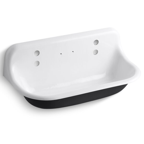 Brockway 36 x 17.5 Wall Mounted Service Sink by Kohler