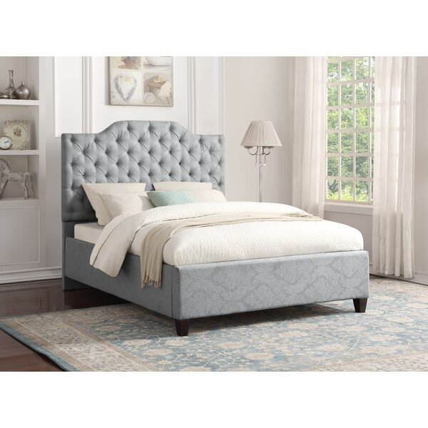 Jerrie Upholstered Standard Bed by Darby Home Co