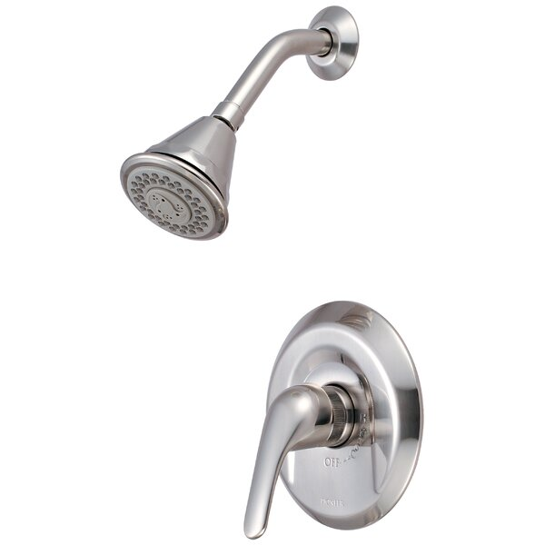Legacy Single Lever Handle Shower Trim Diverter Shower Faucet by Pioneer