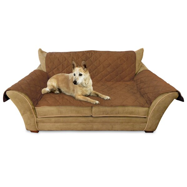Box Cushion Loveseat Slipcover by K&H Manufacturing