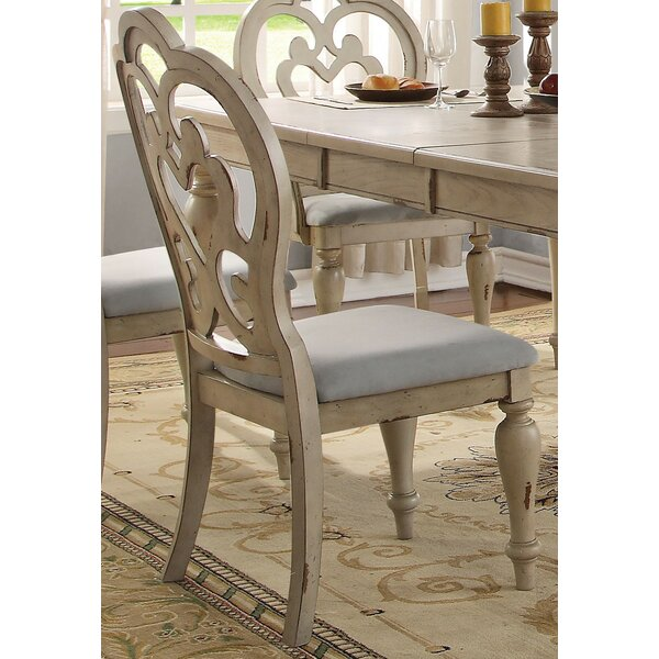 Percy Upholstered Dining Chair (Set of 2) by One Allium Way