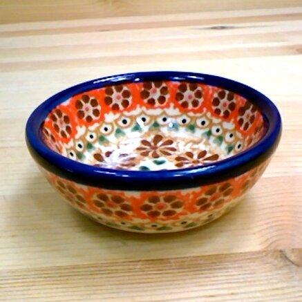 Polish Pottery 4 oz. Stoneware Bowl by Polmedia