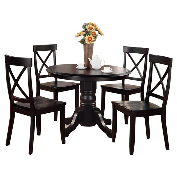 Standridge 5 Piece Dining Set by August Grove