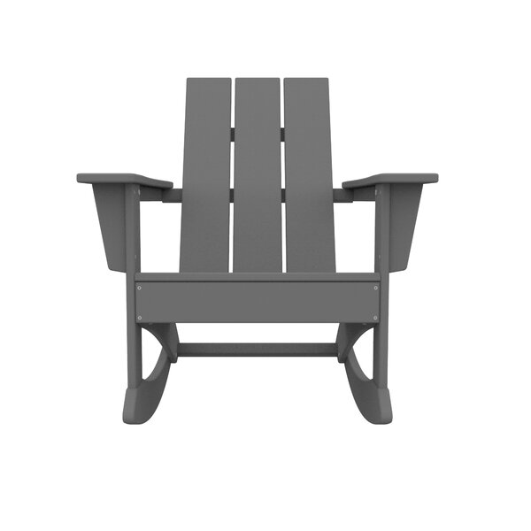Polywood® Modern Adirondack Rocking Chair by Sol 72 Outdoor