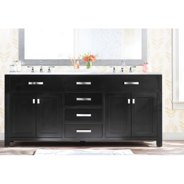 Raven 60 Double Bathroom Vanity by Andover Mills