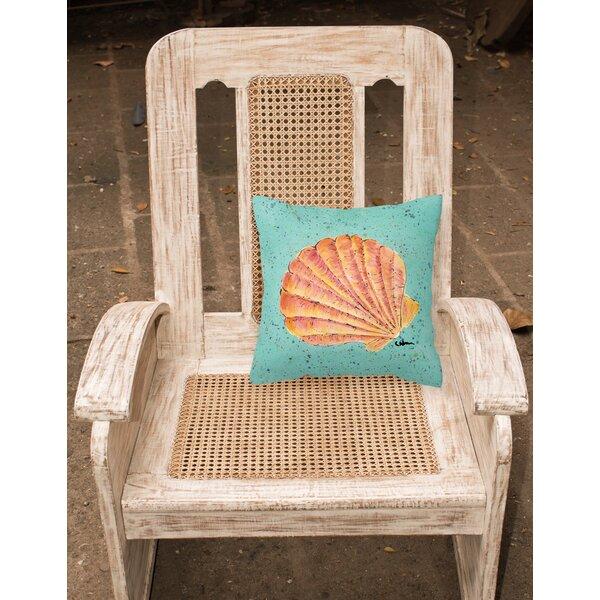 Balderston Green/Orange Indoor/Outdoor Throw Pillow