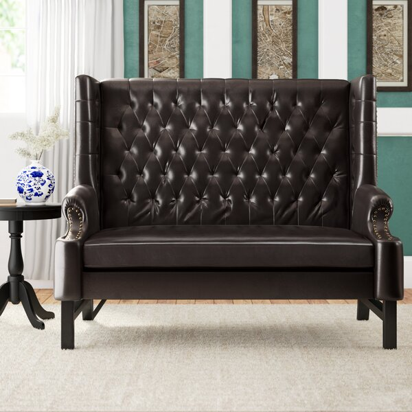 Best Brand Fewell Loveseat by Charlton Home by Charlton Home
