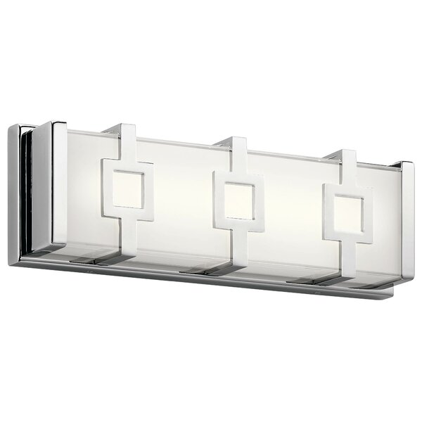 Rozek Contemporary 1-Light LED Bath Bar by Orren Ellis