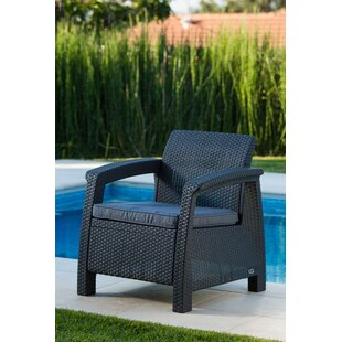 Superb Berard All Weather Outdoor Armchair With Cushion
