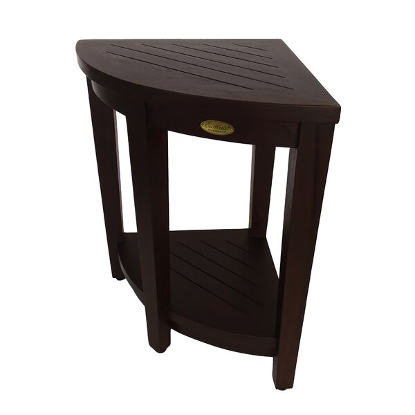Outdoors Elevated Teak Side Table by Decoteak