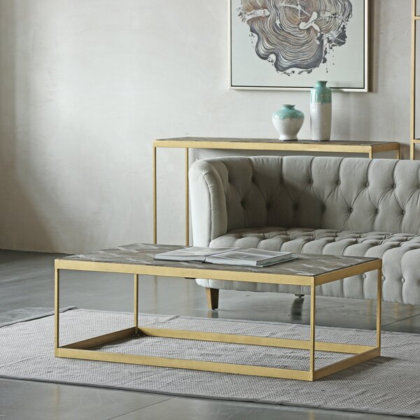 Horta 3 Piece Coffee Table Set by Everly Quinn Everly Quinn