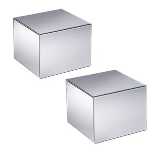 Echo Mirrored End Table (Set of 2) by Holly & Martin