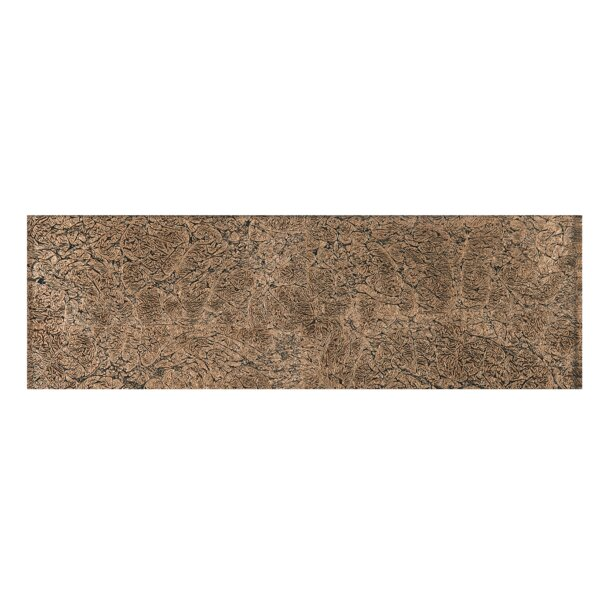 4 x 12 Glass Tile in Brown by Multile