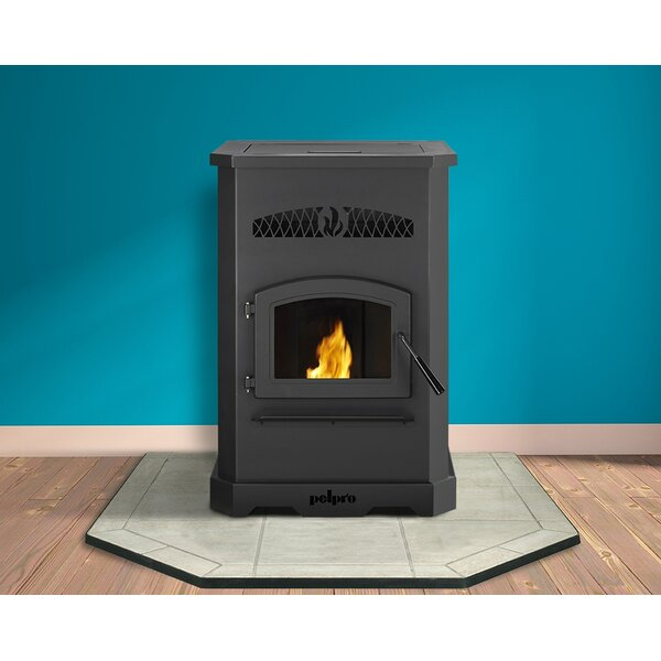 2,200 sq. ft. Direct Vent Pellet Stove by PelPro