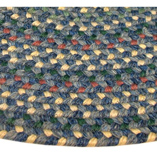 Pioneer Valley II Meadowland Blue Multi-colored Runner Rug by Thorndike Mills