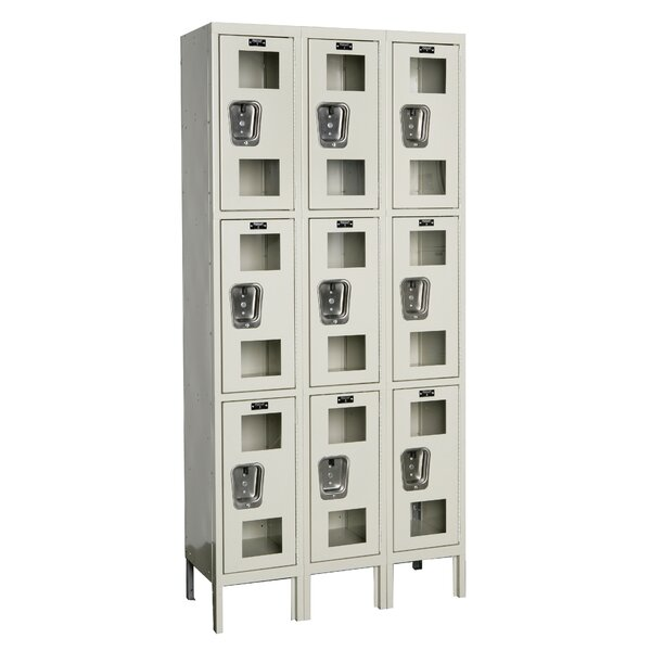 Safety-View 3 Tier 3 Wide Safety Locker by Hallowell