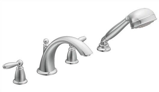 Brantford Roman Tub Faucet & Handshower by Moen