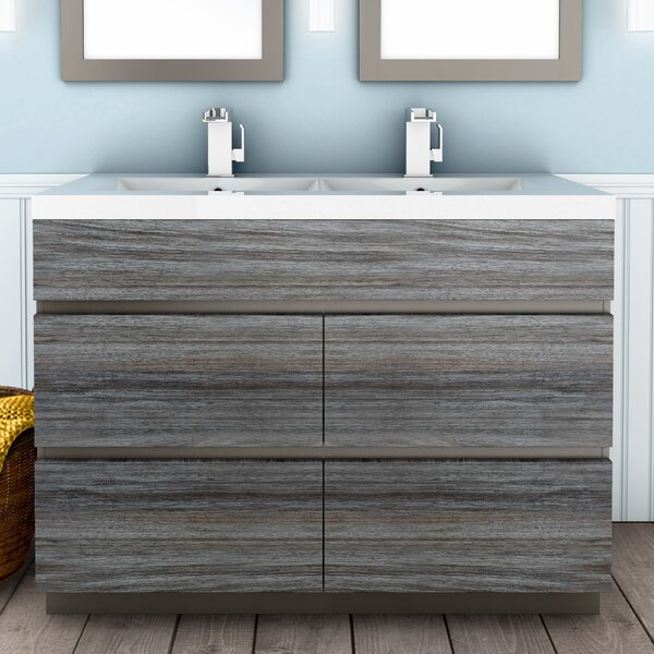 Boardwalk 48 Double Bathroom Vanity Set by Cutler Kitchen & Bath