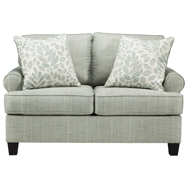 Gainford 38'' Rolled Arm Loveseat By Winston Porter