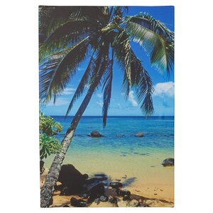 'Beautiful Anini Beach' Photographic Print on Wrapped Canvas by Latitude Run
