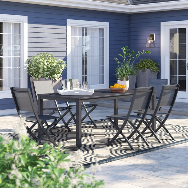 Ashwell 7 Piece Dining Set by Sol 72 Outdoor