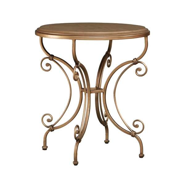 Alexander End Table by Fleur De Lis Living