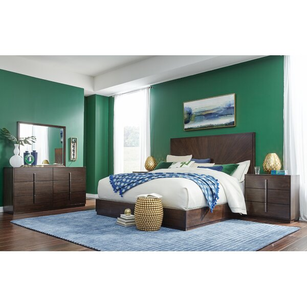 Youenn Shelter Upholstered Standard Bed by Brayden Studio