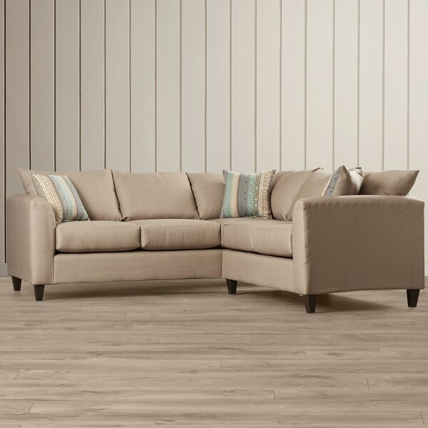 Allyn Symmetrical Sectional By Beachcrest Home