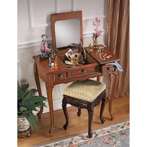 Princess Caroline Vanity with Mirror by Design Toscano