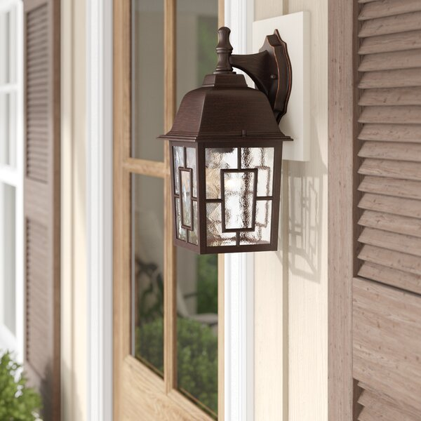 Timmons 1-Light Outdoor Wall Lantern by Charlton Home