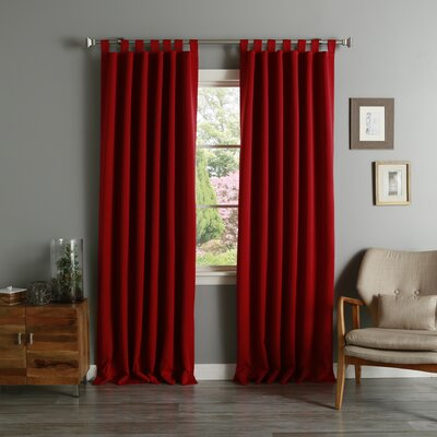 Red Curtains Amp Drapes Joss Amp Main
