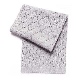 Shop For Emilia Diamond Wool Blend Baby Blanket ByViv + Rae
