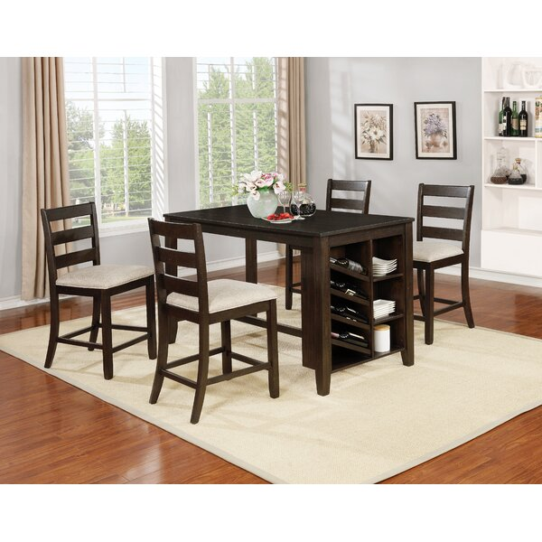 Uniontown 5 Piece Counter Height Dining Set by Gracie Oaks Gracie Oaks