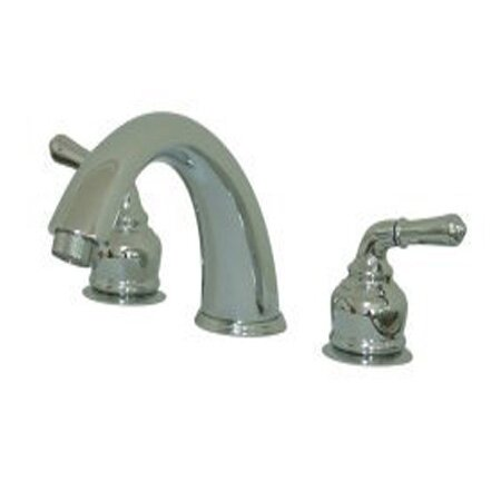Magellan Double Handle Deck Mounted Roman Tub Faucet by Elements of Design Elements of Design