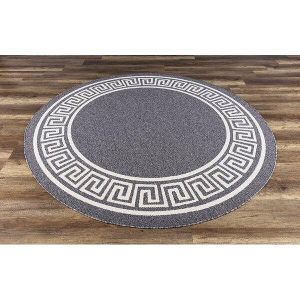 Molden High-Quality Gray Indoor/Outdoor Area Rug by Bloomsbury Market