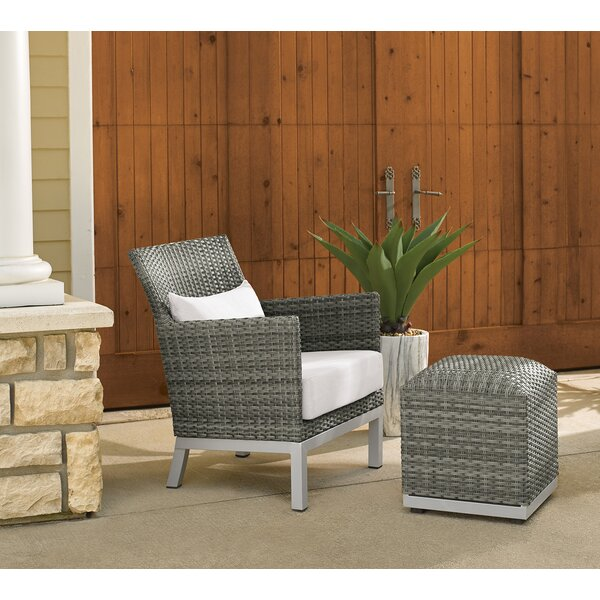 Westhope Patio Chair with Cushion by Brayden Studio