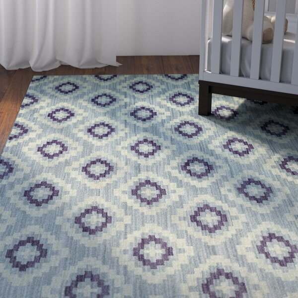 Paulette Blue Area Rug by Viv + Rae